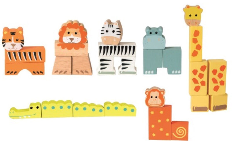 Egmont - Wooden Animal Blocks