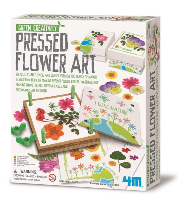 4M - Green Science, Pressed Flower Art