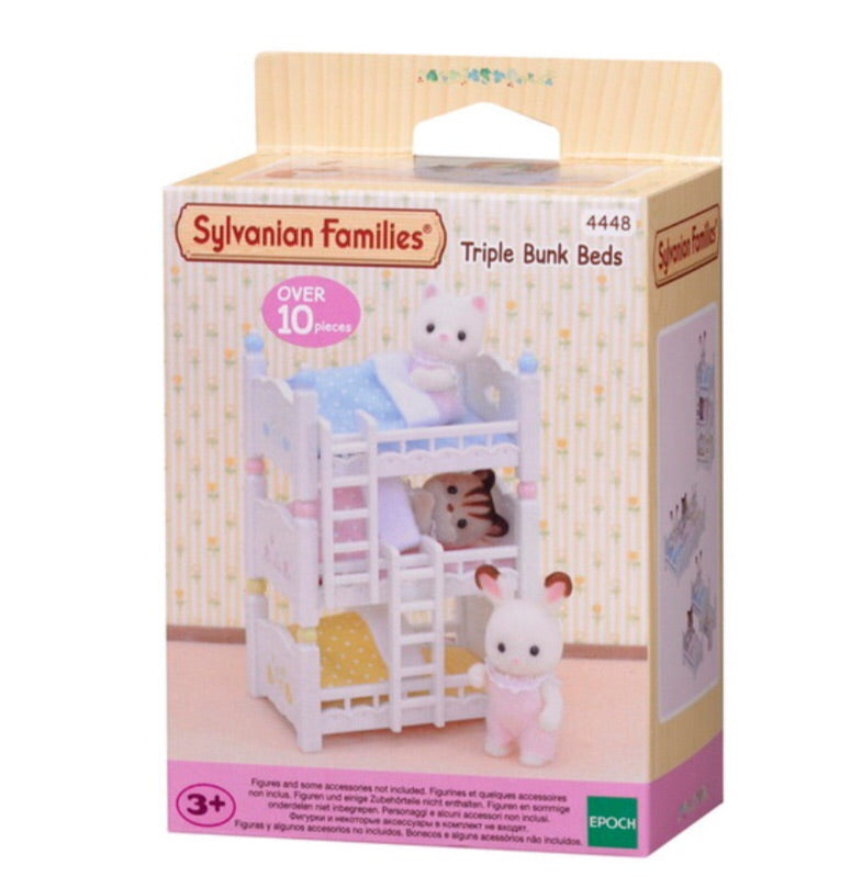 Sylvanian Families -  Triple Bunk Beds
