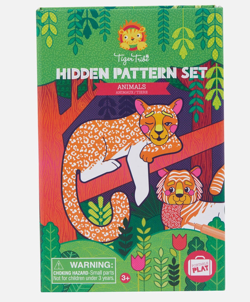 Tiger Tribe - Hidden Pattern Set, Animals