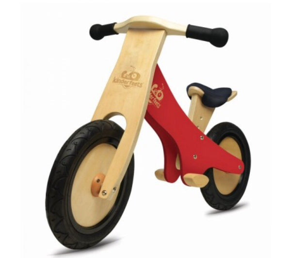 Kinderfeets Balance Bike Red in red