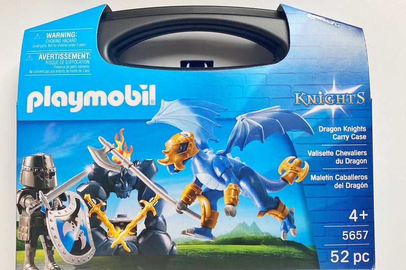 Playmobil Dragon knights case is full of fun imaginative play. Ideal for age 4+