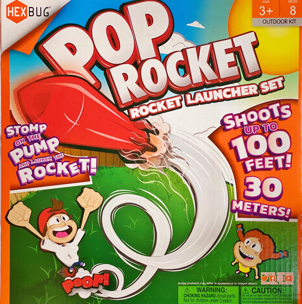 Hexbug - Pop Rocket, Rocket Launcher Set