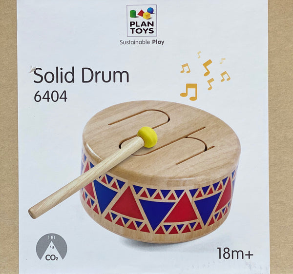 Plan Toys - Solid Drum Wooden