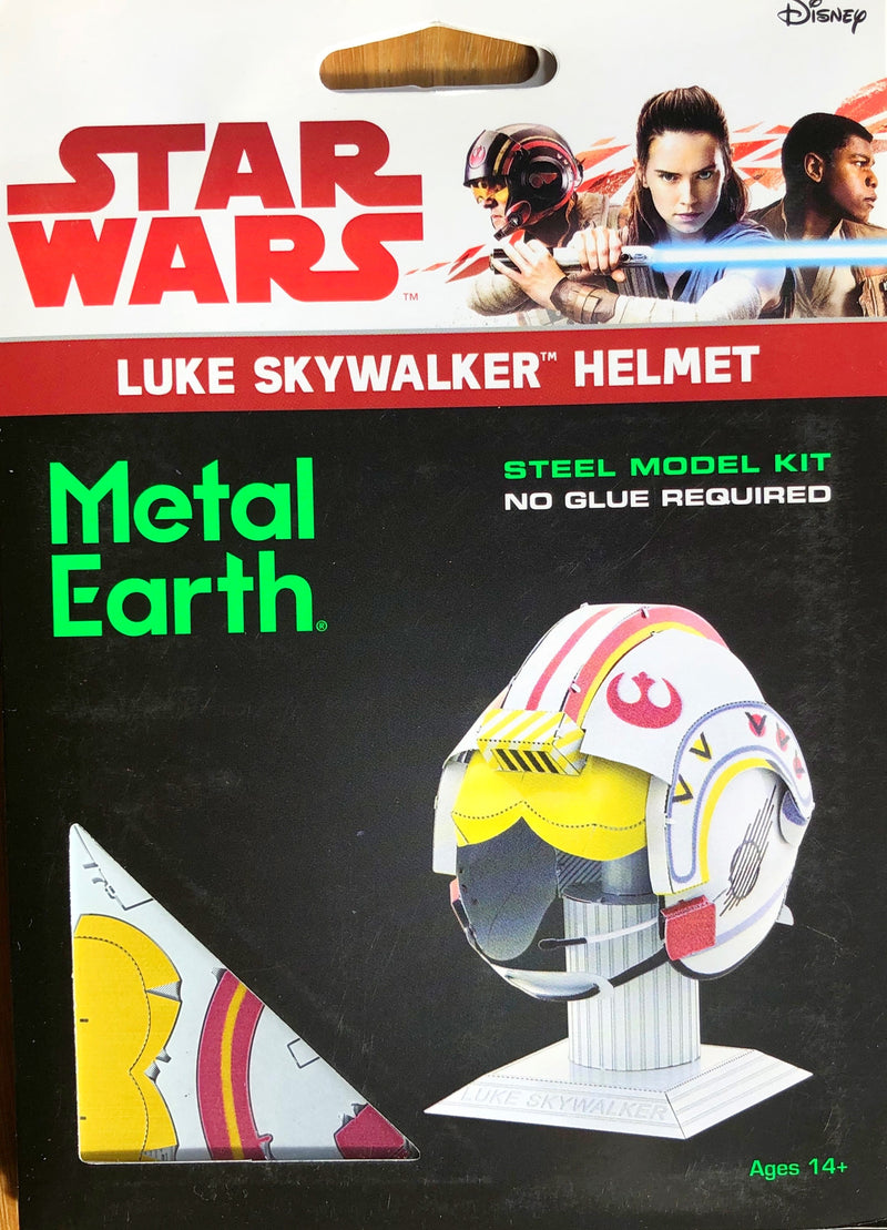 Metal Earth - Star Wars Luke Skywalker Helmet -3D Metal Model Kit