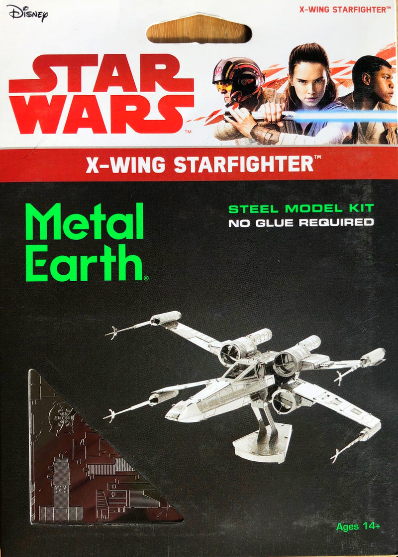 Metal Earth - Star Wars X-Wing Starfighter-3D Metal Model Kit