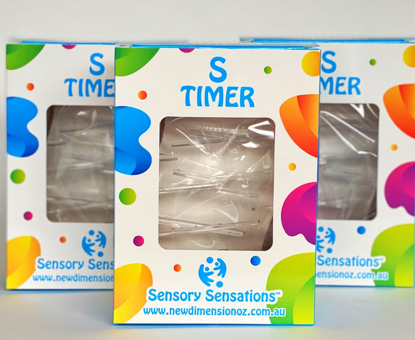 Sensory liquid timer, a great item for sensory play for all ages