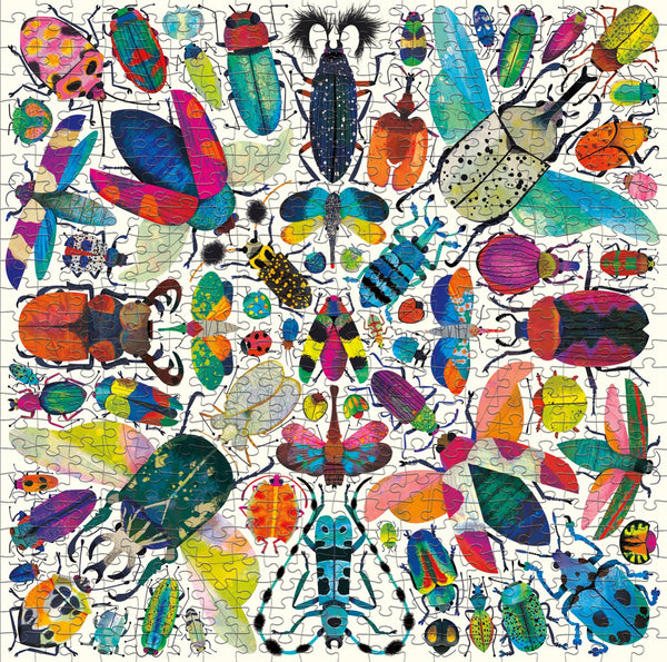 Eeboo - Jigsaw Puzzle 500 piece Beetles