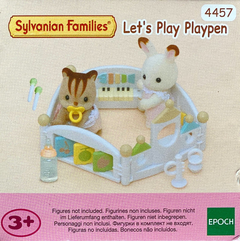 Sylvanian Families -  Lets play playpen