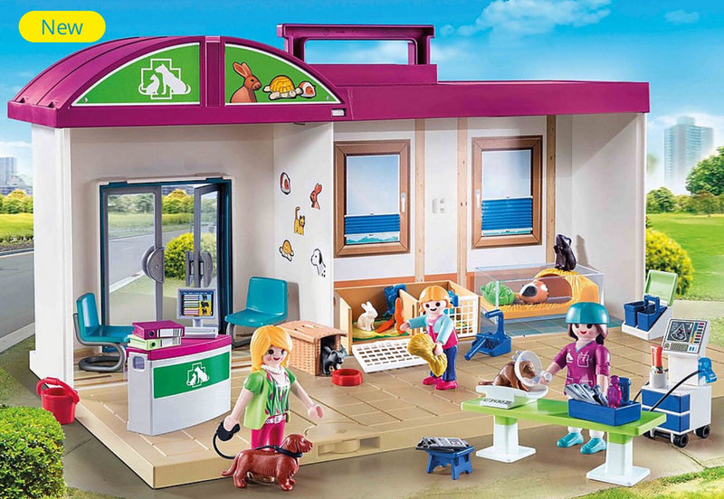 Playmobil - Tale Along Vet clinic