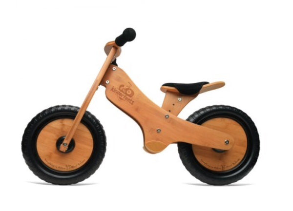 Kinderfeets Balance Bike in bamboo