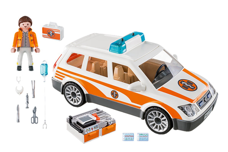 Playmobil - Emergency car with Siren