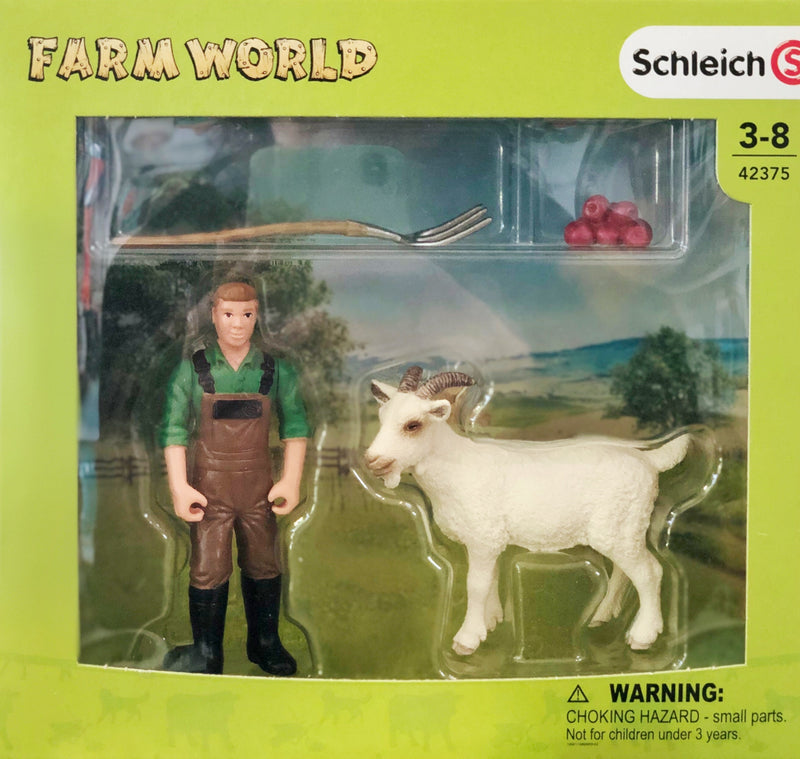 Schleich Farm Life - Farmer with Goat