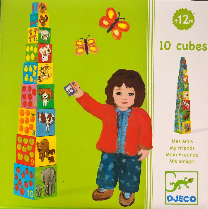 Djeco - Stacking Blocks, My Friends