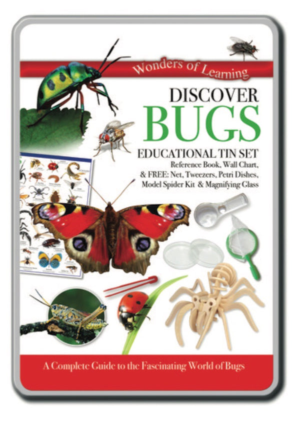 Wonders of Learning - Discover Bugs Tin Set
