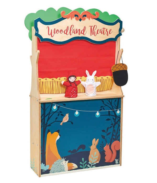 Tender Leaf Toys - Wooden Theatre & Store