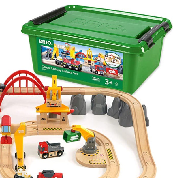 Brio - 54 Piece Cargo Railway Deluxe Set