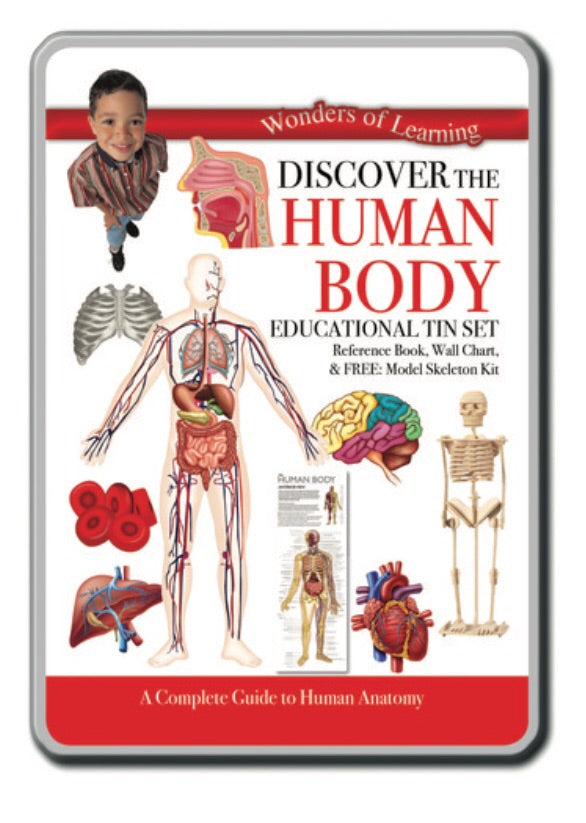 Wonders of Learning - Discover the Human Body Tin Set