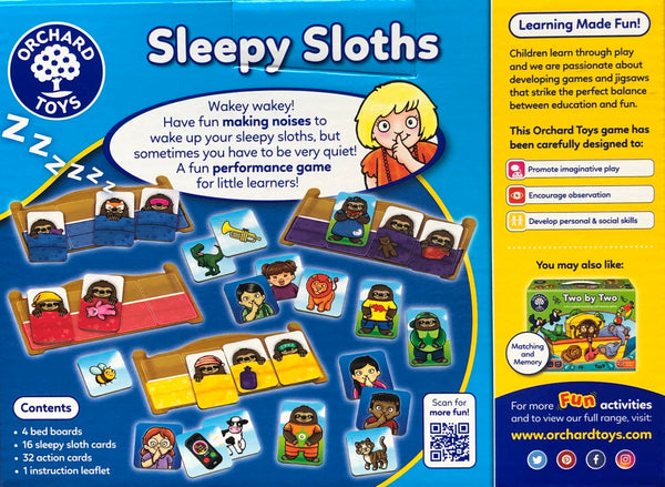 Orchard Toys - Game Sleepy Sloths