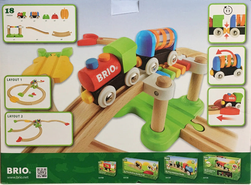 Brio - My first railway set  in multi colour print