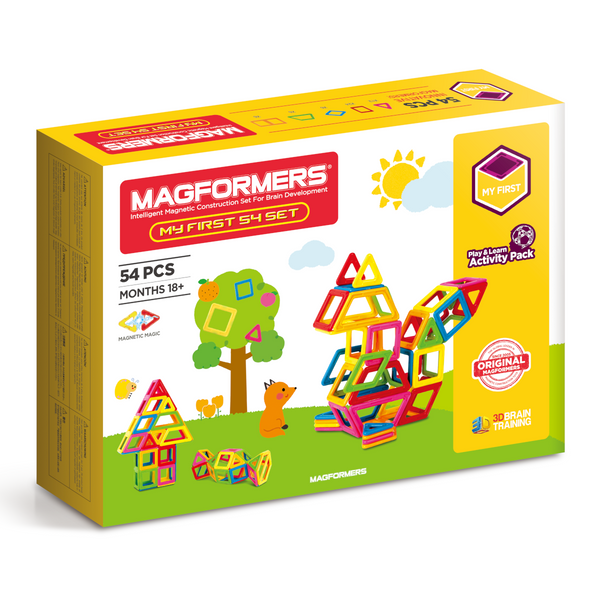 Magformers - My First Set 54 Pieces