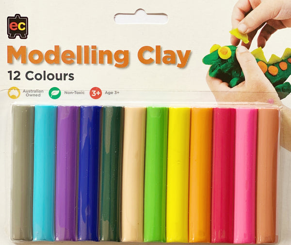 Modeling Clay 12 colours