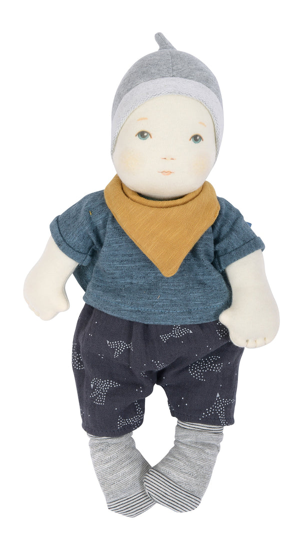 Moulin Roty - Les Bebes Baby Boy Doll 32 cm