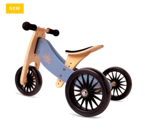 kinderfeets-2-in-1-balance-bike-plus-slate-blue-in-blue is great for 1-18mths +