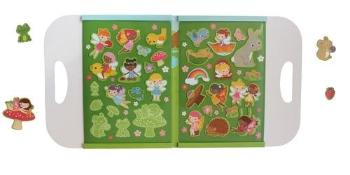 Magna Carry Playbook Forest Fairies in multi colour print