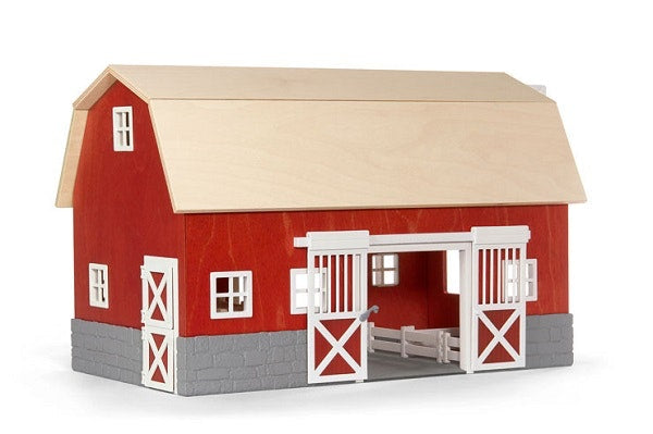 A fantastic country barn for all to enjoy. Add a few animals and this barn offers hours of pretend play!