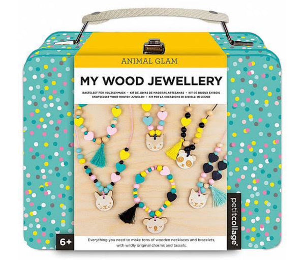 Petit Collage - Wooden Jewellery Kit
