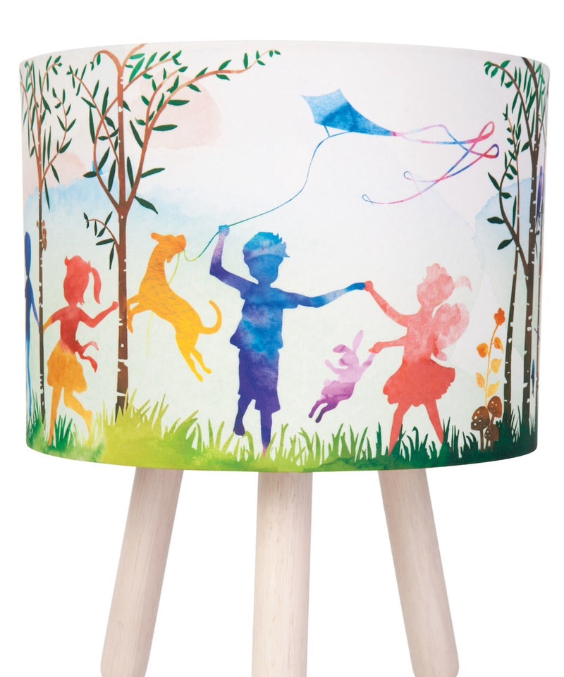 Micky & Stevie - Table Fabric Lamp, In the woods