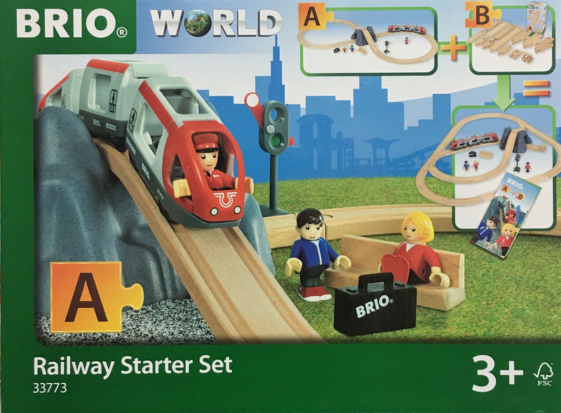 A fantastic modern railway world set - perfect gift for any 3-6 year old