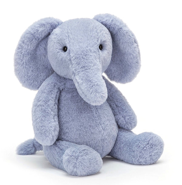 Jellycat - Puffles Elephant in Pale Blue