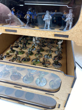 Load image into Gallery viewer, Stackable wargaming model storage