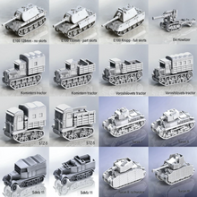 Load image into Gallery viewer, UK British tanks and vehicles