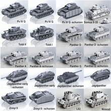 Load image into Gallery viewer, USA Tanks and Vehicles 1/56 Scale