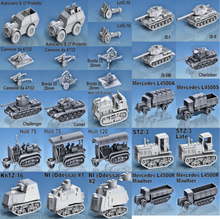 Load image into Gallery viewer, Expanded German Vehicle Collection 1/56 scale