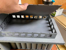 Load image into Gallery viewer, Stalingrad Grain Elevator Model 28mm scale - MDF