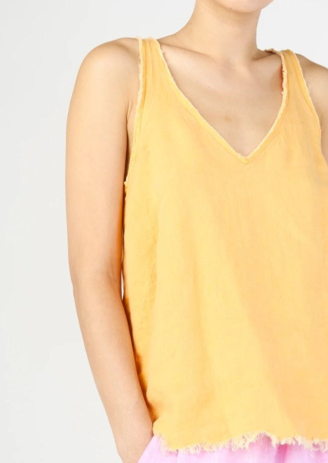 Bella Cotton Linen Tank