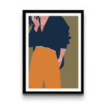 Fashionable woman - Poster