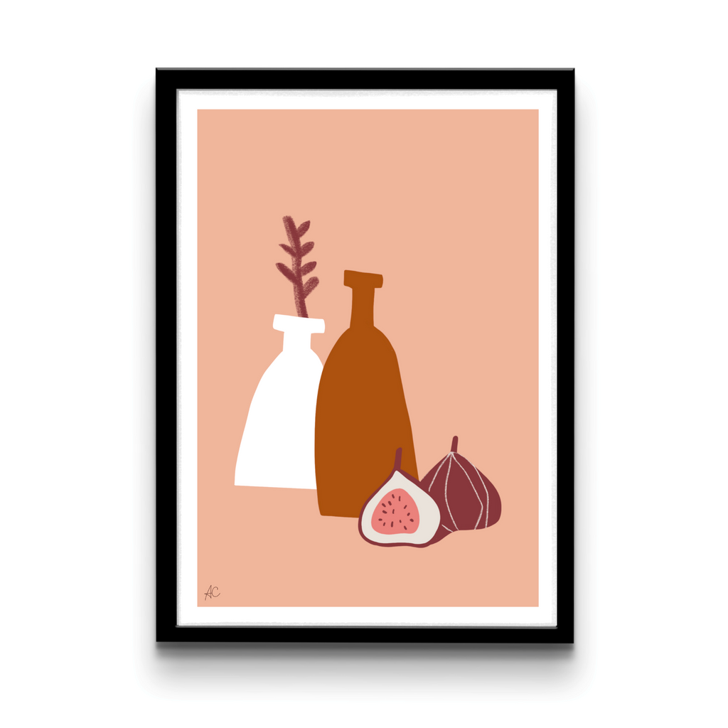 Still life vases & figs - Digital download