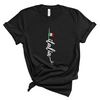 Italia t-shirt with little flag