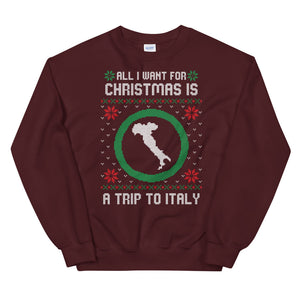 All I want for Christmas is a trip to Italy