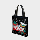 Snowed In - URBAN Tote - Black
