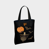 Victorian Bat Wings in the Moonlight - Urban Tote Bag