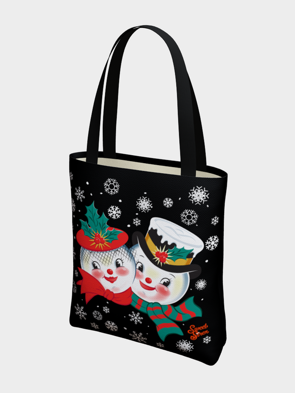 Snowed In - BASIC Tote - Black