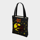 Retro Hallowen Starlight - BASIC Tote Bag