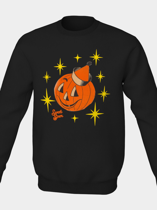 Party Pumpkin Pull Over Unisex Sweatshirt