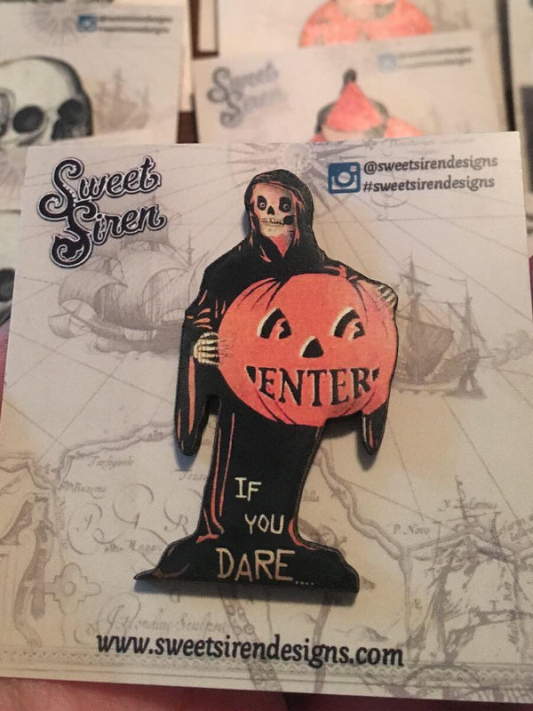 Enter if You Dare Tombstone - PIN
